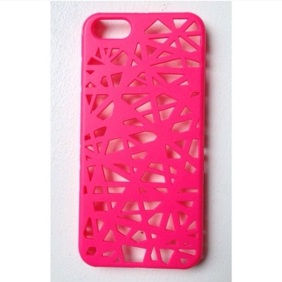Pretty little liars phone case This listing is for a birds nest hot pink phone case that is just like hannas from the tv show PLL. It fits the iphone 5/5s. Price is firm. Hollister Accessories Phone Cases