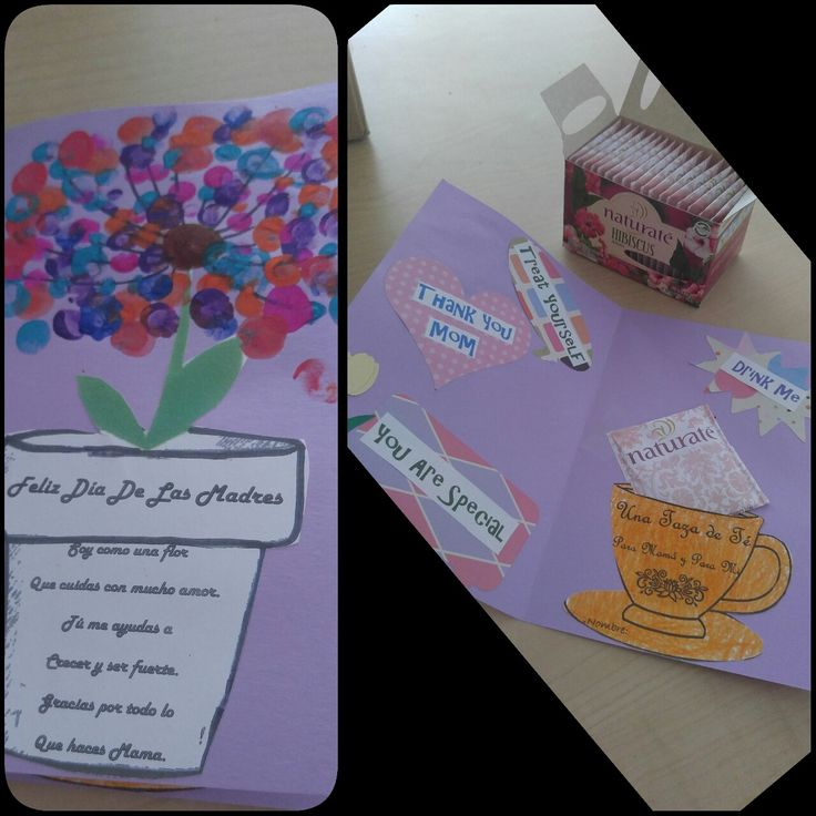 Mothers day card. Inspiration from Alice in wonderland teacups. Tea time with mom.