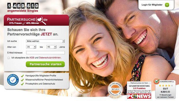 Online partnersuche test