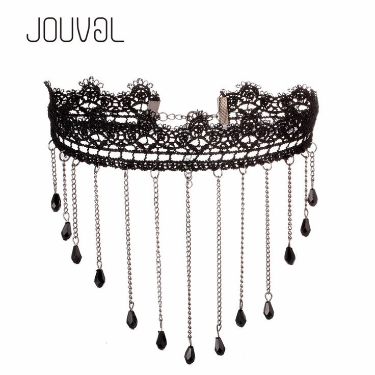 2017 Chokers Sexy Collar Gothic Black Lace Neck Choker Necklace Vintage Victorian Women Chocker Steampunk Jewelry 3.28 SALE
