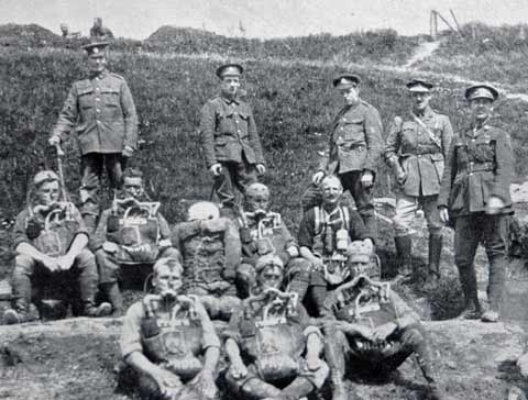 Who were the A.N.Z.A.C.s? they were the Australian New Zealand Army Corps.