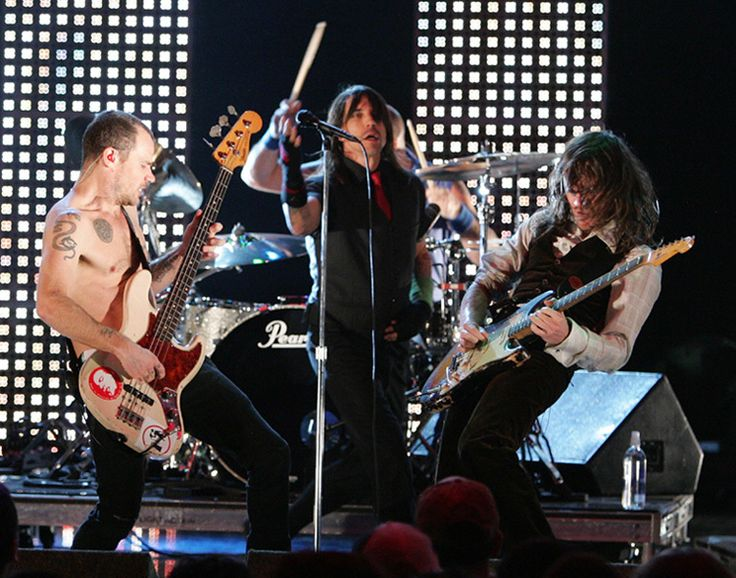 The Red Hot Chili Peppers Live