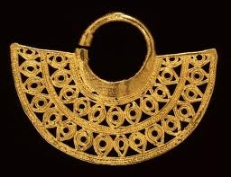 Pre Colombian Gold - Could make un bello collar!