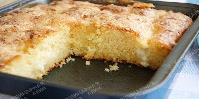 Сахарный пирог  «Безумно вкусный и простой сахарный пирог «Tarte au sucre» — под таким названием я его нашла в интернете. | Эксклюзивные шедевры кулинарии.