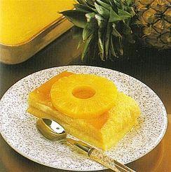 Flan à l'ananas
