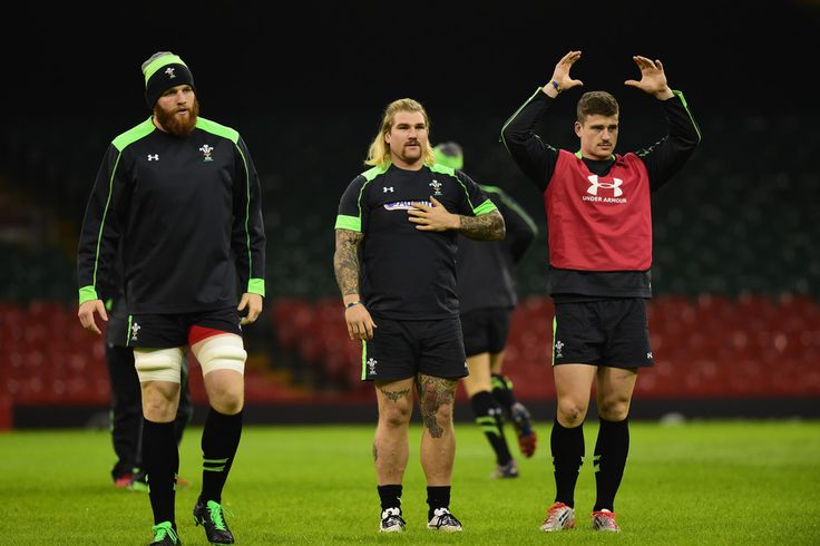 Richard Hibbard Photos: Wales Captain's Run