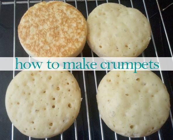 Did you know you can make crumpets at home? Here's how! And they taste so much better than store-bought. Try and see!
