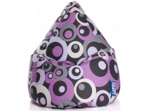 Magma Heimtex Sitzsack MALIBU Bean Bag XL (Lila)