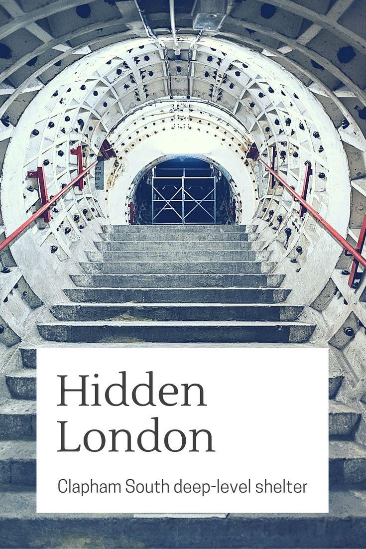 Inside London's Hidden Sights: Clapham South Shelter. Hidden London Tour by London Transport Museum. http://www.urbanpixxels.com/hidden-london/