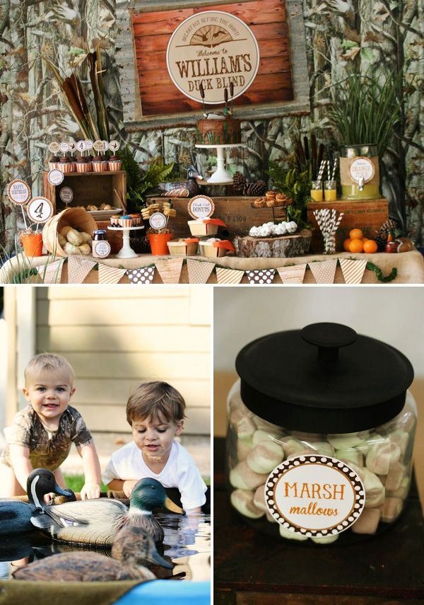 25 Best Ideas About Hunting Birthday Parties On Pinterest
