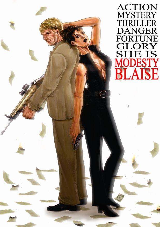 modesty blaise - Google Search | modesty blaise | Movie ...