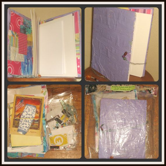 1000 Images About Salvage Ideas On Pinterest: 1000+ Images About DIY Art Journals/ Smash Journal, Junk