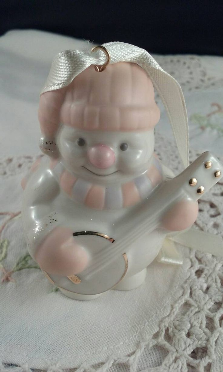 Lenox Snowman Christmas Ornament by RetroRoonniesRoom on Etsy