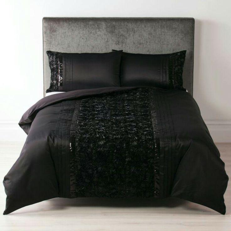 Dita Black by Linen House