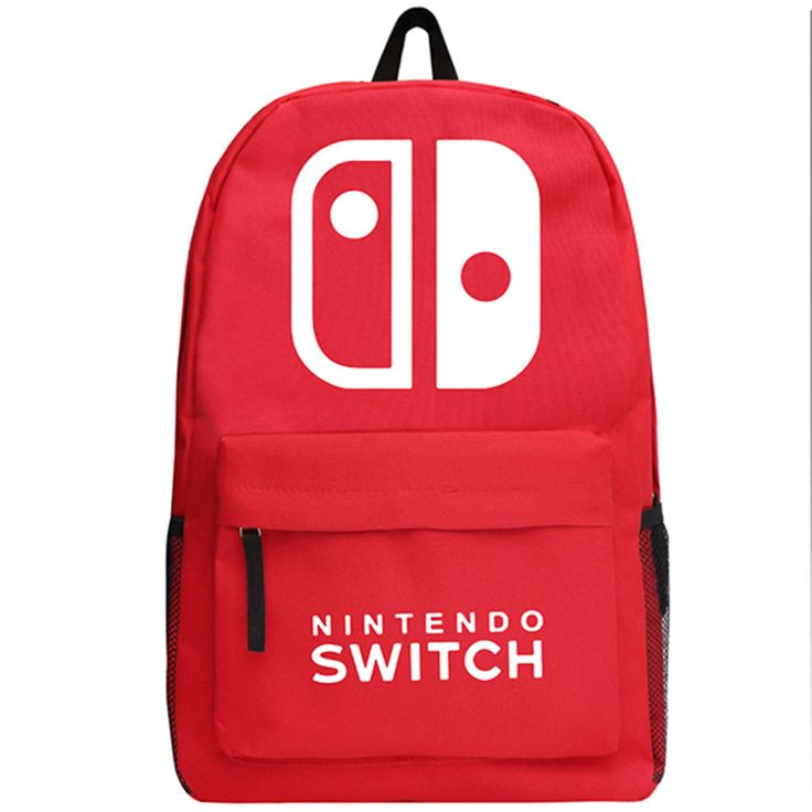 Game PS4 Nintendo Switch Backpack Boys and Girls Oxford School Bag Teenagers Bookbag