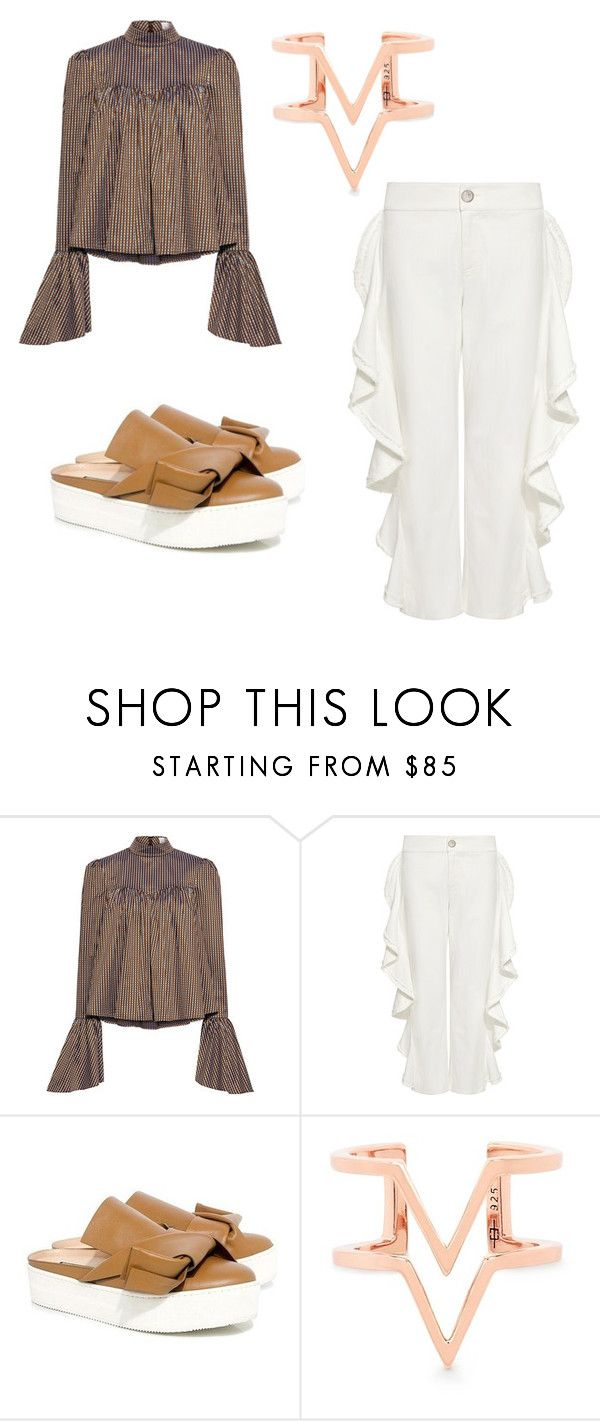 """""""Untitled #321"""" by denysa-boldog on Polyvore featuring Caroline Constas, Alexis, N°21 and Edge of Ember"""