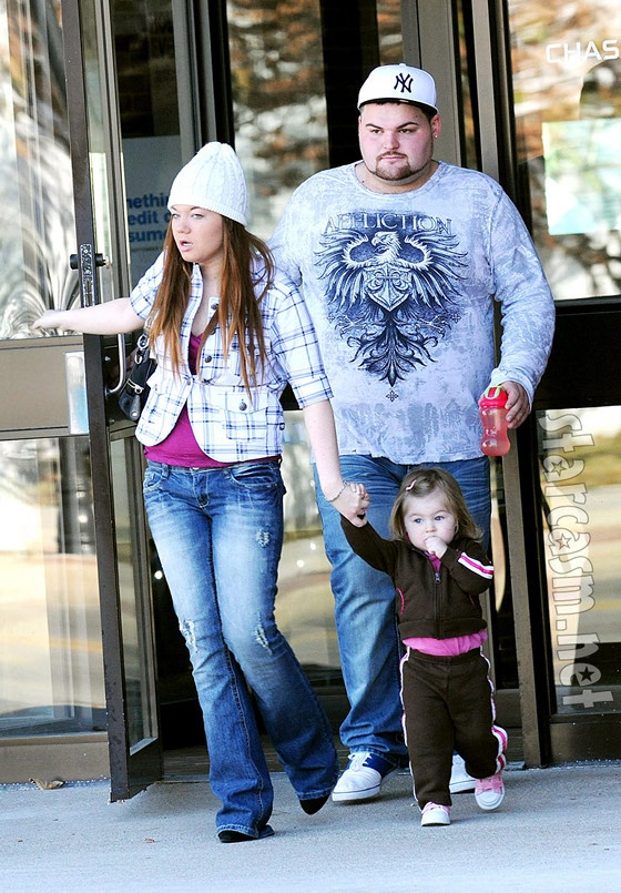 Teen Mom Amber Portwood's Daughter Will Visit Her In Jail, Baby Daddy Gary Shirley Finally Consents