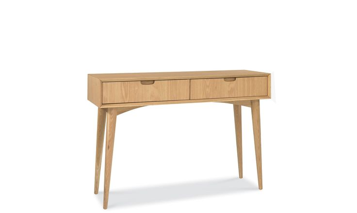Stockholm Oak - Console Table With Drawer £299