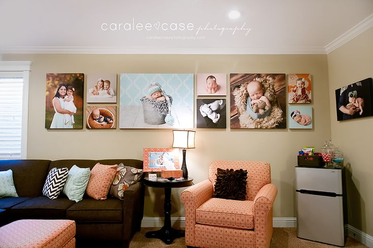 Caralee Case Photography Canvas display wall  www.caraleecasephotography.com