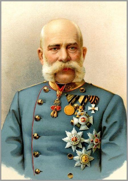 František Josef I., císař rakouský a král uherský