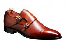 Barker Lancaster Mens double strap leather monk shoe http://www.robinsonsshoes.com/mens-shoes/barker-lancaster.html