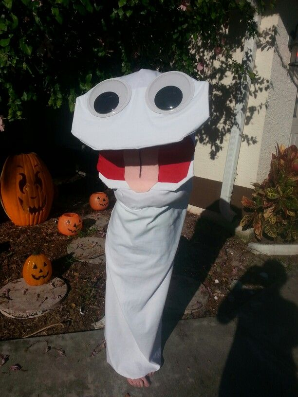 sock puppet halloween costume holidays pinterest. Black Bedroom Furniture Sets. Home Design Ideas