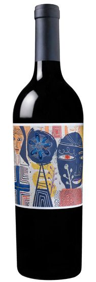 My new favorite wine label! The 2009 Melee!! by @Nate Williams !