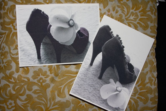 Favorite Pumps postcard by amberroyaltyboutique on Etsy, $5.00