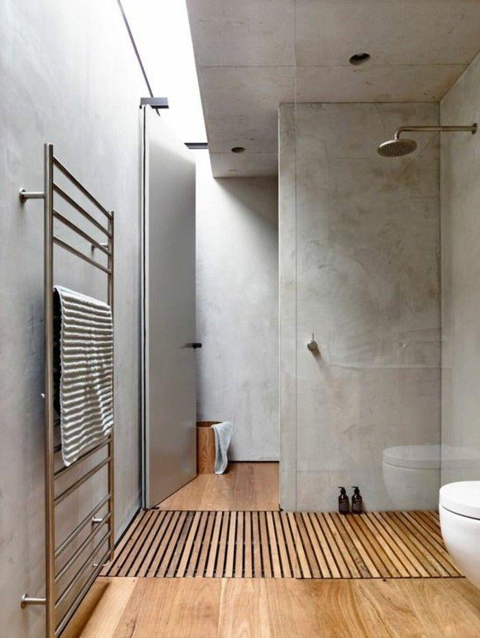 17 meilleures id es propos de b ton d coratif sur - Salle de bain couleur taupe ...