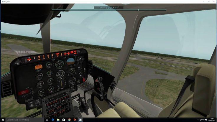 Xplane 10 Dreamfoil Bell 407 tour of Aerosoft Frankfurt Main