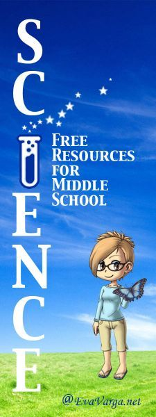 Free Middle School Science Resources @EvaVarga.net