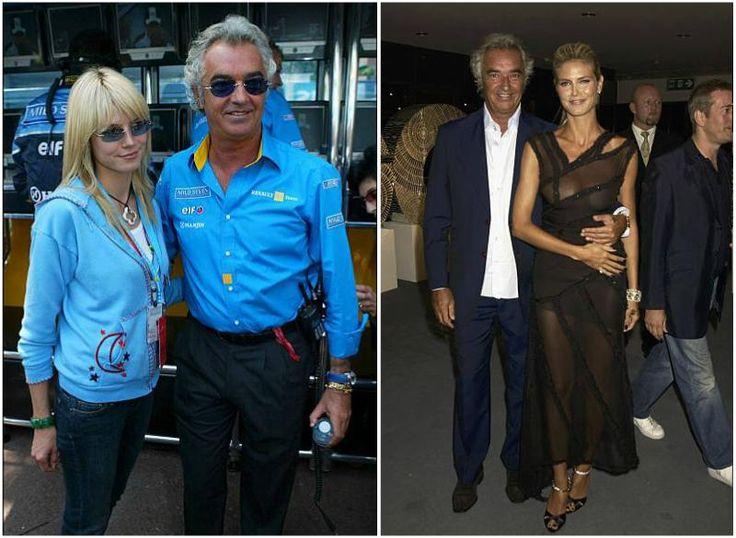 Heidi Klum with father of her daughter Helena Flavio Briatore