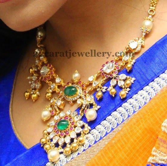 Jewellery Designs: antique necklace