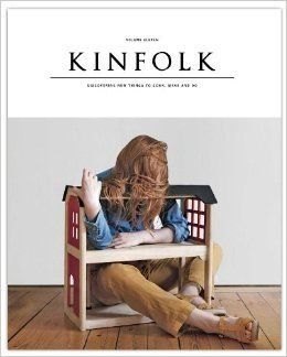 Kinfolk Volume 11: THE HOME ISSUE The spring 2014 edition of Kinfolk explores the meaning of home, what it looks like, how different people arrange them and the qualities that the best ones share : http://www.kinfolk.com/shop/magazine/