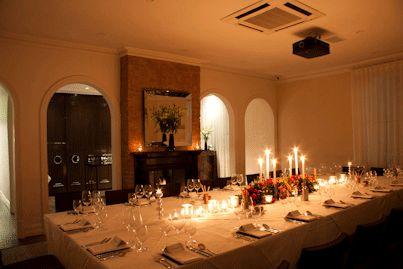 The Gallo Nero - Chianti Classico Restaurant's larger private dining room (Adelaide S.A.)