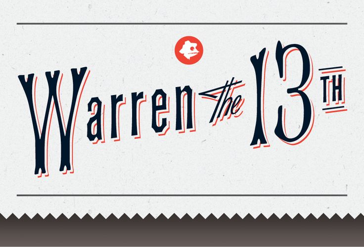 #warrenthe13th #books #education