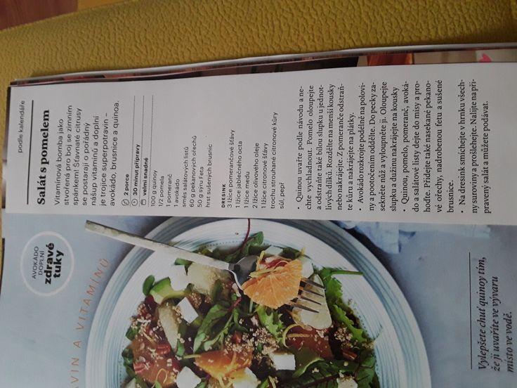 Salát s pomelem