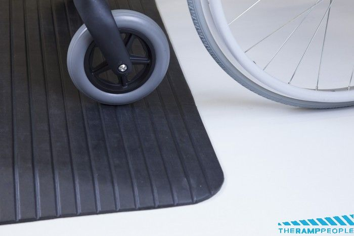 """Rubber Threshold Ramps up to 4""""/100mm high"""