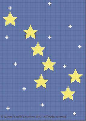 Узоры для вязания крючком-большая МЕДВЕДИЦА созвездие * легко *