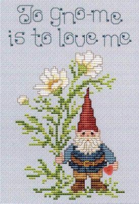 To Gnome - Cross Stitch Pattern
