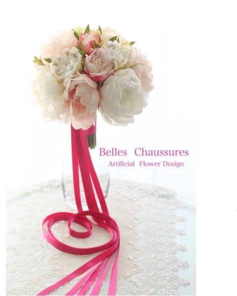 ピンクのリボンがキュート♡結婚式のブーケプルズのアイデア♡演出の参考にしたいウェディング・ブライダル♡