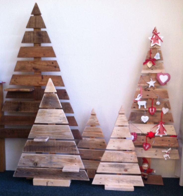 Mijn kerstboomcollectie van pallethout
