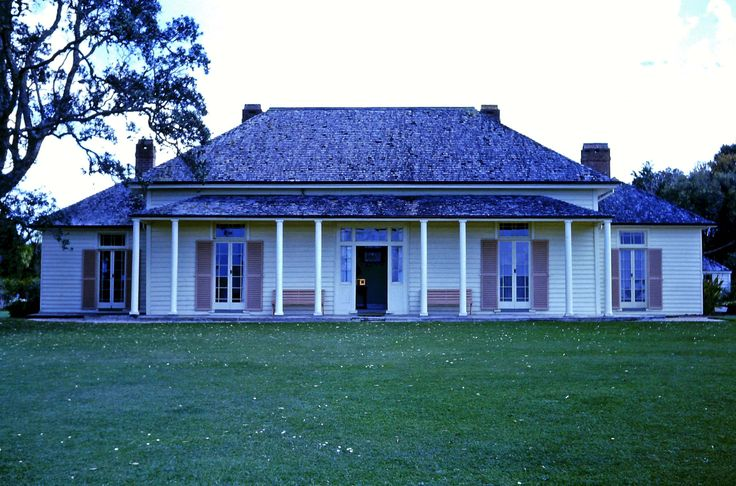 Captain Cook's residence at Waitangi, Nth Is