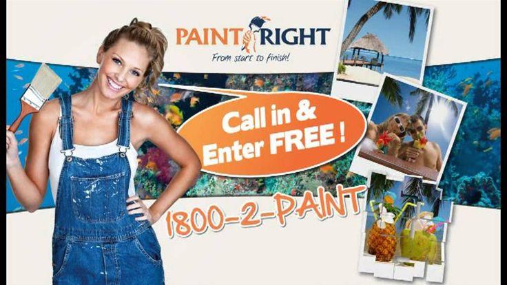 PaintRight Win A Fiji Getaway! TV Ad Spring 15Sec