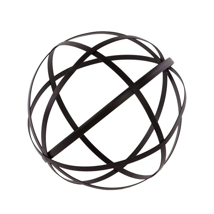 Shop Urban Trends 60158 Dyson Sphere Metal Orb Decor With