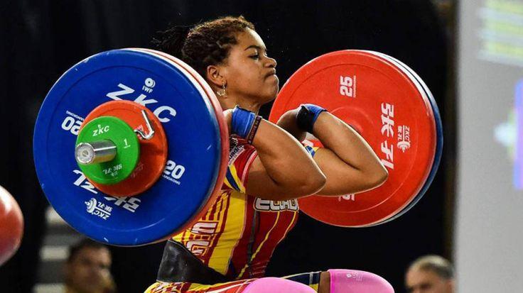 Angie Palacios, tricampeona mundial sub-17