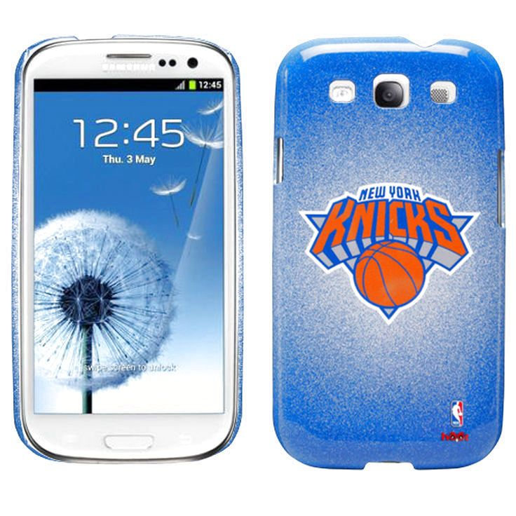 New York Knicks Samsung Galaxy S3 Case - Royal Blue/Orange - $15.19