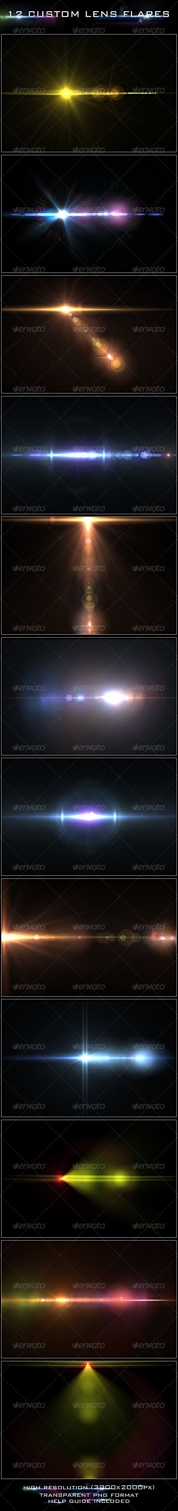 12 Custom Lens Flares — Transparent PNG #hot #pink • Available here → https://graphicriver.net/item/12-custom-lens-flares/2401160?ref=pxcr