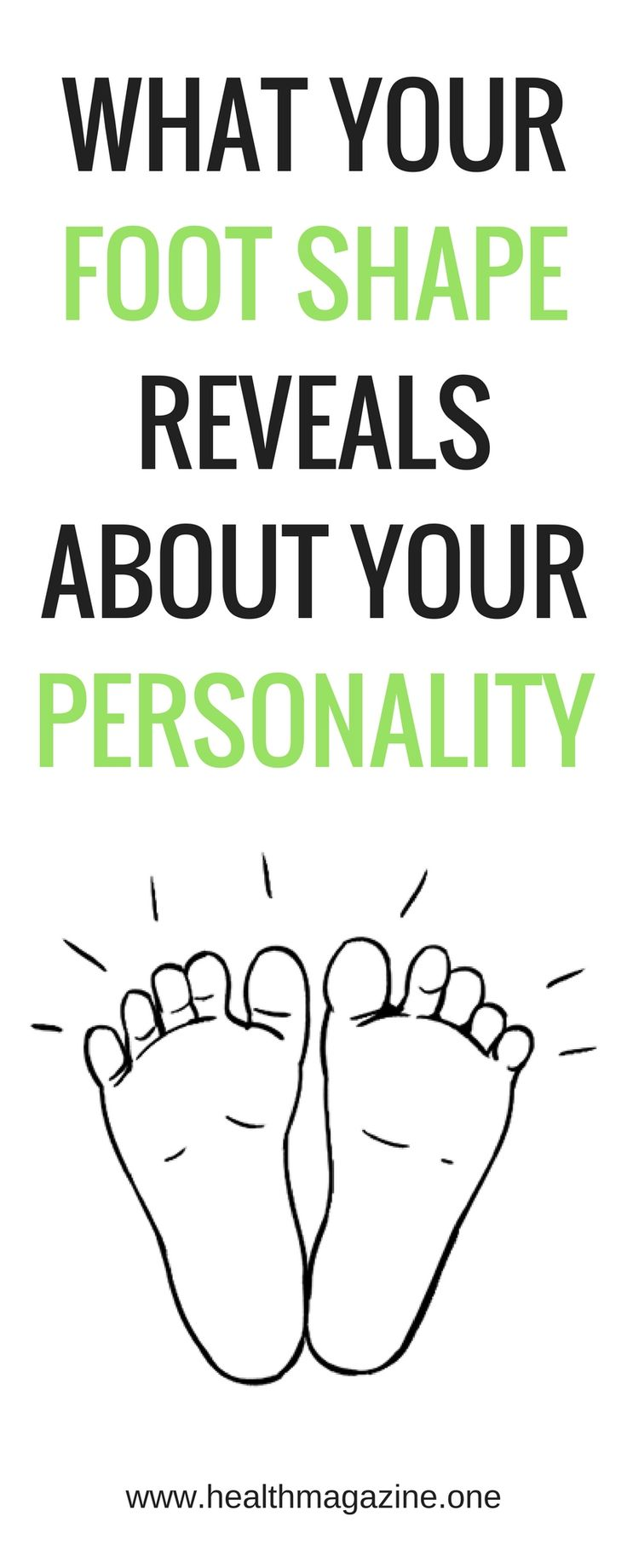 What the Shape of Your Foot Reveals About Your Personality