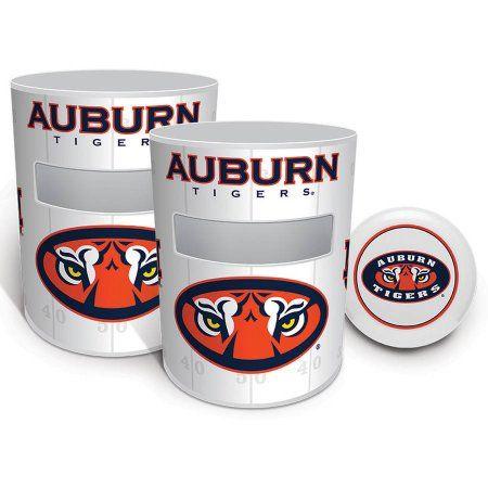 Auburn Tigers Kan Jam Game Set, White